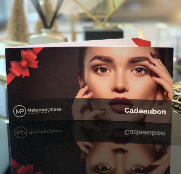 Cadeaubon permanente make up